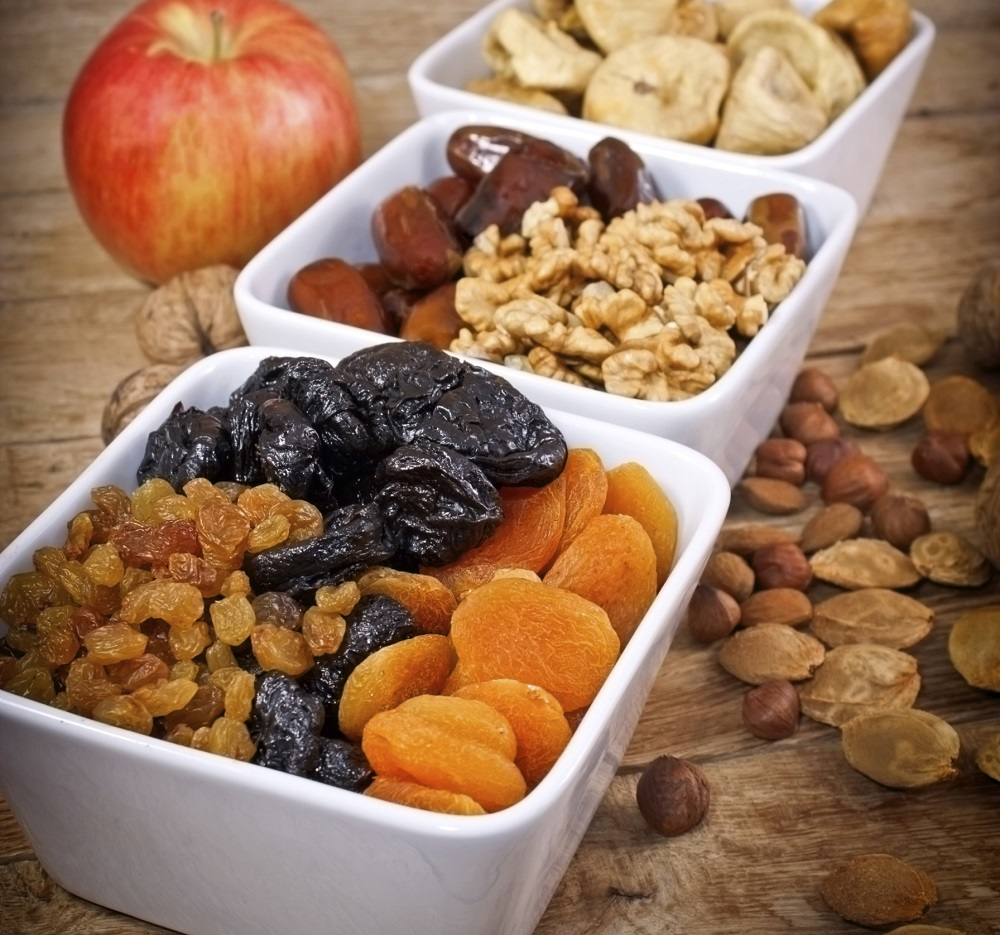 Healthy food - Dried organic fruits